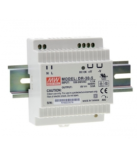 Zasilacz stabilizowany na szynę 36W 24VDC