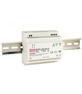 Zasilacz stabilizowany na szynę 100W 24VDC