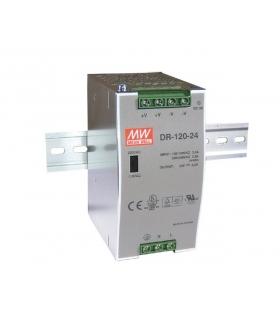 Zasilacz stabilizowany na szynę 120W 24VDC