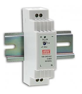 Zasilacz stabilizowany na szynę 15W 24VDC