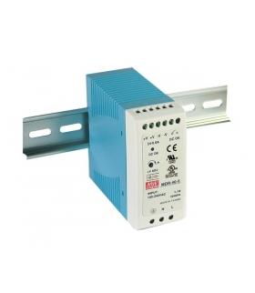 Zasilacz stabilizowany na szynę 40W 24VDC