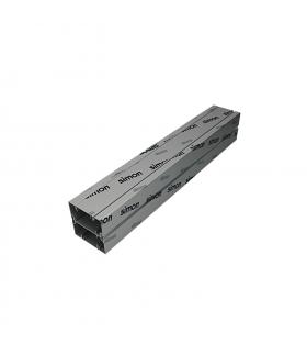 Element przedłużający do kolumn dwustronnych ALK dł.0,5m aluminium ALK22P05/8