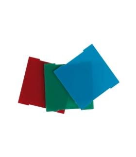 Zestaw filtrów (czerwony, zielony, niebieski) do pokrywy modułu świecącego75370-39 82960-39