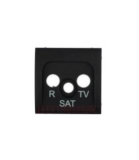 Pokrywa do gniazda antenowego R-TV-SAT grafit 82037-38