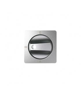 Pokrywa łącznika pokrętnego (4 pozycje) aluminium zimne 82079-93