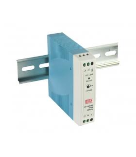Zasilacz stabilizowany na szynę 24W 24VDC