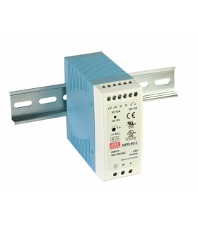 Zasilacz stabilizowany na szynę 60W 24VDC