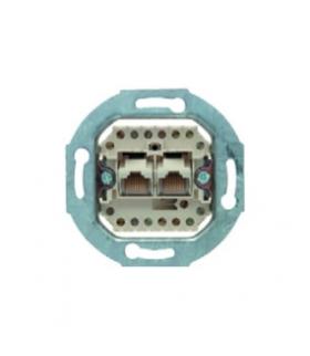 one.platform Mechanizm gniazda telefonicznego UAE 2-kr (RJ11, RJ12, RJ45) kat. 3 Berker 534539