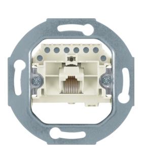 one.platform Mechanizm gniazda telefonicznego UAE 1-kr (RJ11, RJ12, RJ45) kat. 3 Berker 534538