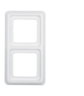 IP44 Ramka 2-krotna z uszczelką, biały Berker 53132909