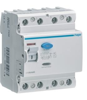 CD485Z RCCB Wyłącznik różnicowoprądowy 4P 100A/30mA Typ AC Hager