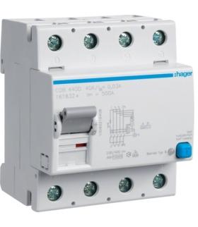 CDB440D RCCB Wyłącznik różnicowoprądowy 4P 40A/30mA Typ B Hager