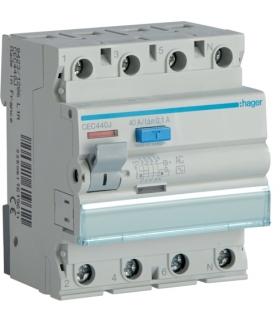 CEC440J RCCB Wyłącznik różnicowoprądowy 3P+N 40A 100mA 6kA AC Hager
