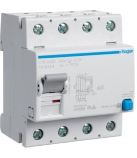 CFB440D RCCB Wyłącznik różnicowoprądowy 4P 40A/300mA Typ B Hager