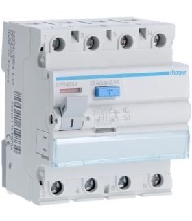 CFC425J RCCB Wyłącznik różnicowoprądowy 3P+N 25A 300mA 6kA AC Hager