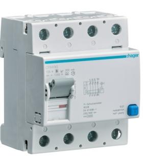 CPA490 RCCB Wyłącznik różnicowoprądowy selektywny 4P 125A/300mA Typ A-S Hager