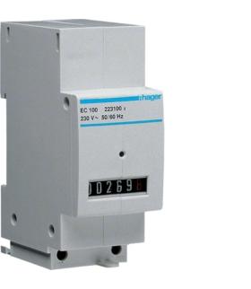 EC100 Licznik czasu pracy 230V, 1/10h Hager