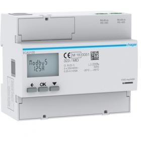 ECA310D Licznik energii elektrycznej 3-fazowy,  125A 6M,  AGARDIO,  MID Hager
