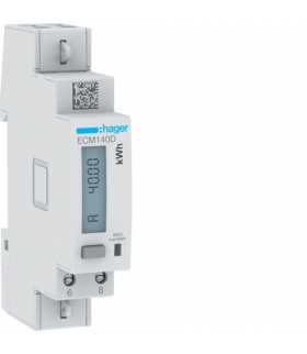 ECM140D Licznik energii elektrycznej 1-fazowy, 40A 1M, M-bus, MID Hager