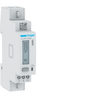 ECR140D Licznik energii elektrycznej 1-fazowy, 40A 1M, Modbus, MID Hager