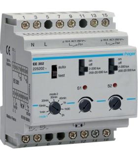 EE202 Wyłącznik zmierzchowy 230V 2P 16A funkcje Comfort Hager