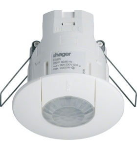 EE815 Czujnik obecności 360 stopni IR p/t biały Hager