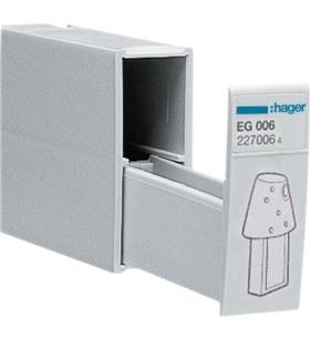 EG006 Pudełko do przechowywania kluczy programujących i blokujących,  szerokość 1M Hager
