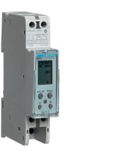 EG071 Zegar cyfrowy tygodniowy 20 kroków programowych 230V 1P 16A Hager