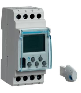 EG103 Zegar cyfrowy tygodniowy 56 kroków programowych 230V 1P 16A Hager