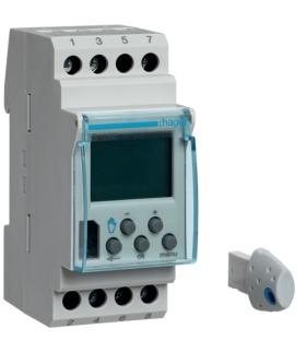EG103E Zegar cyfrowy tygodniowy komfort 56 kroków programowych 230V 1P 16A Hager