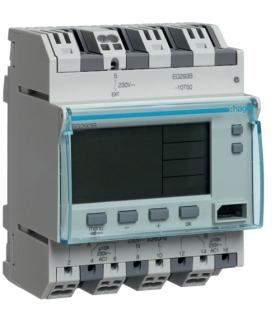 EG293B Zegar cyfrowy tygodniowy 300 kroków programowych 230V 2P 16A QuickConnect Hager