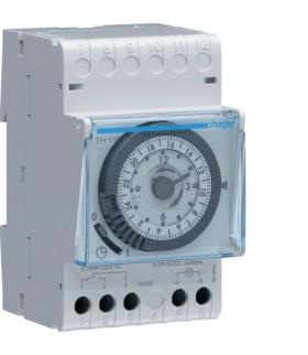 EH110 Zegar analogowy dobowy bez rezerwy chodu 230V 1P 16A Hager