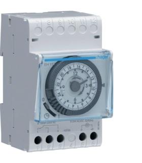 EH111 Zegar analogowy dobowy z rezerwą chodu 230V 1P 16A Hager