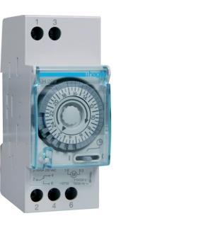 EH209 Zegar analogowy dobowy bez rezerwy chodu 230V 1P 16A Hager