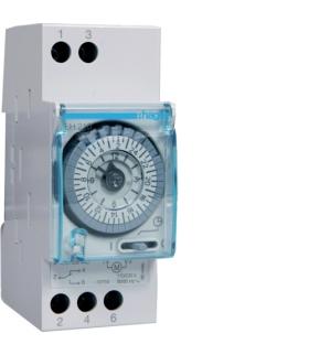 EH210 Zegar analogowy dobowy bez rezerwy chodu 230V 1P 16A Hager