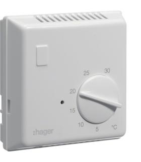 EK054 Termostat bimetalowy bez lampki kontrolnej 230V 1NO 10A Hager