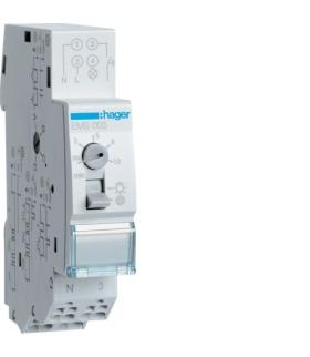 EMS005 Wyłącznik schodowy z sygnalizacją wyłączenia 30s-10min/1h 230V 1NO 16A Hager