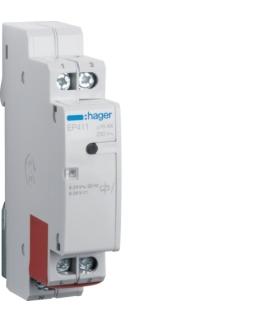 EP411 Przekaźnik bistabilny elektroniczny 8-24V AC/DC 1NO 16A Hager
