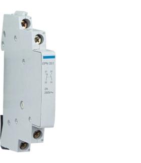 EPN051 Łącznik pomocniczy 1NO+1NC 2A do przekaźników bistabilnych 24-230VAC Hager