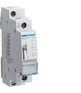 EPN501 Przekaźnik bistabilny 48VAC/24VDC 1NO 16A Hager
