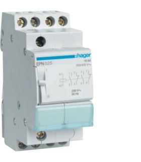 EPN525 Przekaźnik bistabilny 230VAC/110VDC 2NO+2NC 16A  Hager