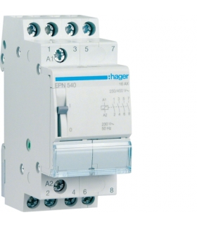 EPN540 Przekaźnik bistabilny 230VAC/110VDC 4NO 16A  Hager