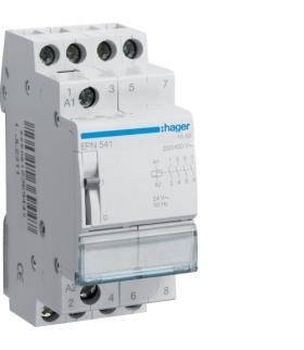 EPN541 Przekaźnik bistabilny 24VAC/12VDC 4NO 16A Hager