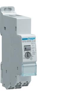 EPS450B Przekaźnik bistab. elektroniczny 230V 1NO 16A z regul. opóźnien. QuickConnect Hager