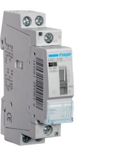 ERC218 Przekaźnik instalacyjny 230VAC 1NO+1NC 16A  Hager