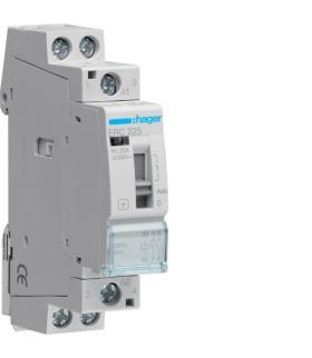 ERC225 Stycznik z możliwością sterowania ręcznego 230VAC 2NO 25A AC-7a/b Hager
