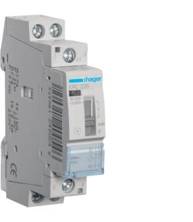 ERC226 Stycznik z możliwością sterowania ręcznego 230VAC 2NC 25A AC-7a/b  Hager