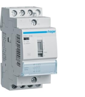 ERC316 Przekaźnik instalacyjny 230VAC 3NO 16A  Hager