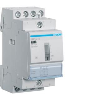ERC416 Przekaźnik instalacyjny 230VAC 4NO 16A  Hager