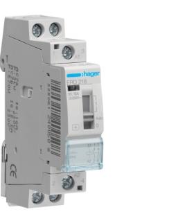 ERD218 Przekaźnik instalacyjny 24VAC 1NO+1NC 16A  Hager